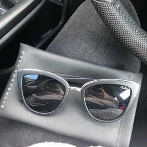 QUAY sunglasses! Perfect condition with case